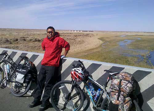 18 Days Cycling Tour from Golmud to Lhasa